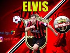 Elvis Suárez seguirá en el Unión Viera. UniónViera