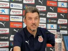 Unzué fue despedido. GironaFC