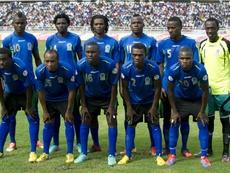 A los jugadores de Tanzania les regalaron un trozo de tierra. AFP