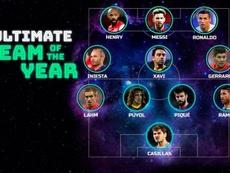 Messi, CR7, Lahm, Steven Gerrard y Thiery Henry completan el once. UEFA