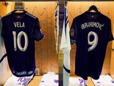 Ibra y Vela: de matarse a críticas a compartir vestuario en cuestión de días. Twitter/MLS