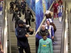 Las escaleras del Olímpico de Berlín son mecánicas. BTSport