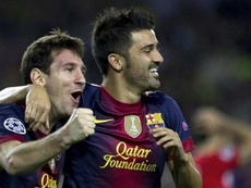Villa clarifies why he left Barca. EFE