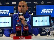 Lisandro López habló de la dura derrota ante River. RacingClub