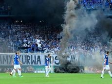 La hinchada volverá a entrar a los estadios en Polonia a partir del 19 de junio. EFE