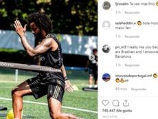 Marcelo looks slimmer than ever this preseason. Instagram/marcelotwelve