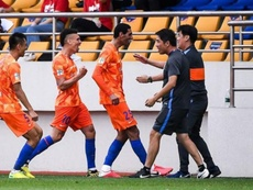 Fellaini, protagonista absoluto en la victoria del Shandong Luneng. ShandongLuneng