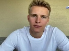 Odegaard returns to Real Madrid. Twitter/RealSociedad