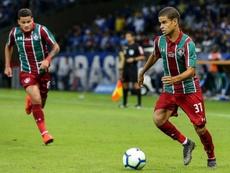 Miguel Silveira nel mirino di Arsenal e Tottenham. Twitter/FluminenseFC