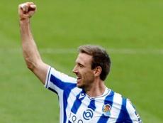 La Real Sociedad es el líder de Primera División. EFE