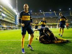 Nández dejó entrever que Boca todavía le debe parte de su traspaso. Twitter/BocaJrsOficial