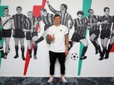 Barella, nuevo jugador 'neroazzurro'. Twitter/Inter