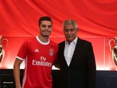 El Moreirense, a un paso de llevarse a Nuno Santos. Twitter/SLBenfica