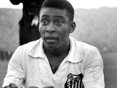 Despedida de Pelé com a camisa do Peixe ocorreu em 1974.