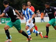 Portu debutó con la Real en Mallorca. RealSociedad