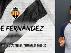 Jorge Fernández ficha por el Castellón. CDCastellón