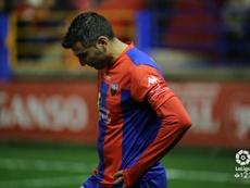 Reyes llegó al Extremadura en enero. LaLiga
