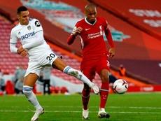 Liverpool começa bem e Fabinho se destaca na zaga sem Van Dijk. EFE