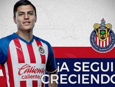 Chivas cede a Ronaldo Cisneros a Mineros. Twitter/Chivas