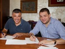 Savo Milosevic deja el Partizan. Twitter/FKPartizanEN