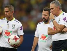 De seis a ocho: Alan y Fernandinho se unen al trabajo con Brasil. CBFOficial