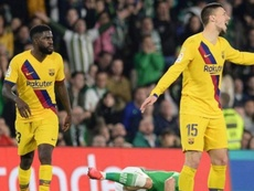 Umtiti's brother admitted he is looking for a team for Samuel. EFE