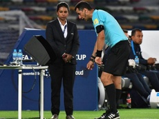 Osvaldo estalló contra el VAR. AFP