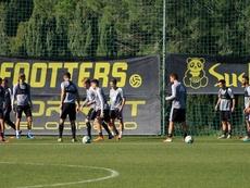 Garrido y Choco Lozano son duda para Las Palmas. CádizCF