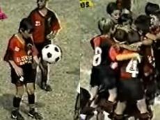 Cuando el pequeño Messi deslumbró a todos en Perú. Captura/Youtube
