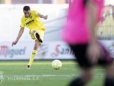 El Villarreal B espera batir al Cornellà. Twitter/VillarrealCF