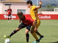 El Barcelona B sigue lider tras ganar a domicilio al Mallorca B por 2-3. FCBMasia