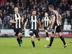 El St. Mirren venció al Dundee United en la tanda de penaltis. saintmirrenfc