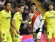 Niño hizo el 0-1 para el Villarreal. RayoVallecano