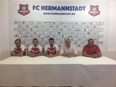 Se encuentran duodécimo en la Liga Turca. Twitter/FCHermannstadt
