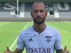 Vázquez has moved to Belgium. Twitter/KAS_Eupen