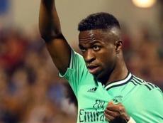 Vinicius, le grand espoir du Real Madrid. EFE/Javier Cebollada