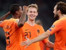 Frenkie de Jong veut la Coupe du Monde. afp