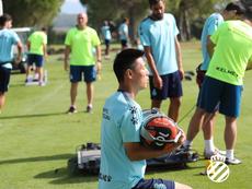 Wu Lei, ilusionado por jugar Europa League. RCDEspanyol