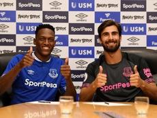 Ni Yerry ni André debutaron aún. Everton