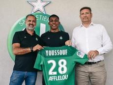 Youssouf signe jusqu'en 2023. Twitter/ASSEofficiel