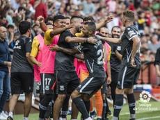 El Alcorcón venció al Sporting por un amplio resultado. LaLiga