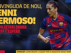 El Barça ficha a Jennifer Hermoso hasta 2022. FCBFemeni