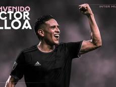 Víctor Ulloa ya es del Inter Miami. InterMiami