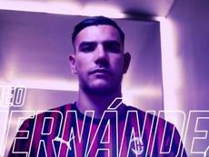 Theo Hernández é o novo jogador do Milan. Captura/ACMilan