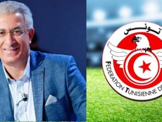 Kebaier, nouveau sélectionneur de la Tunisie. Twitter/TunisieFootball