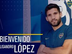 Lisandro López foi anunciado no Boca Juniores. BocaJuniors