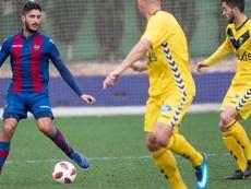 El Atlético Levante se mide al Lleida. Twitter/LUDAtletico