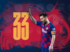 Un nouveau record pour Messi. Capture/MovistarLigadeCampeones