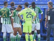 Bravo fue clave en la victoria del Betis. EFE