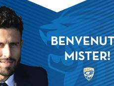 El ex campeón del mundo Grosso dirigirá al Brescia. BresciaOfficial